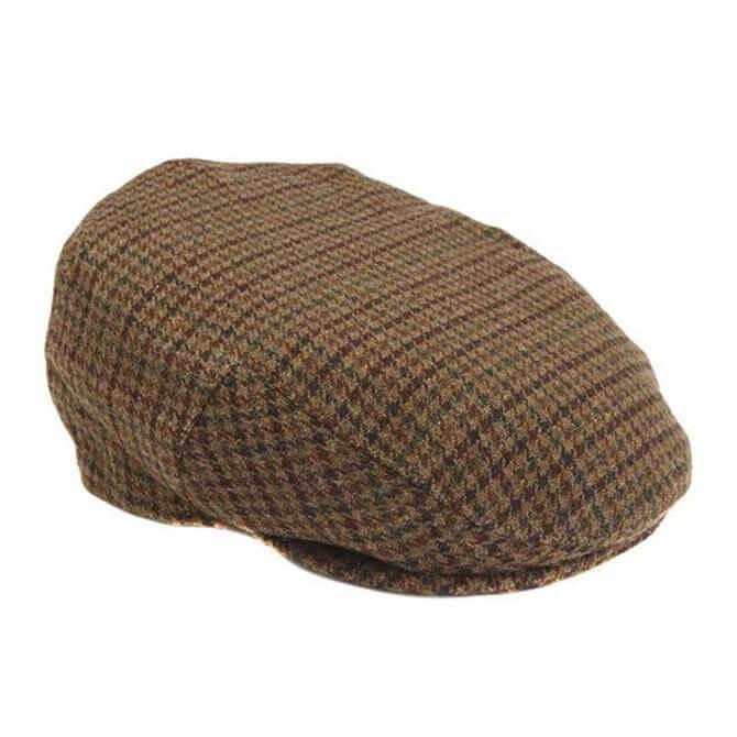 Barbour Crieff Wool Tweed Cap