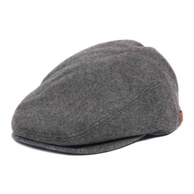 Barbour Redshore Wool Flat Cap