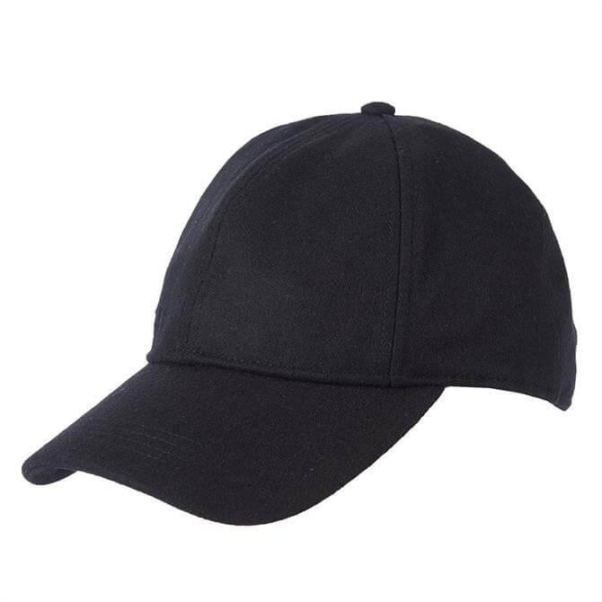 Barbour Coopworth Black Wool Sports Cap