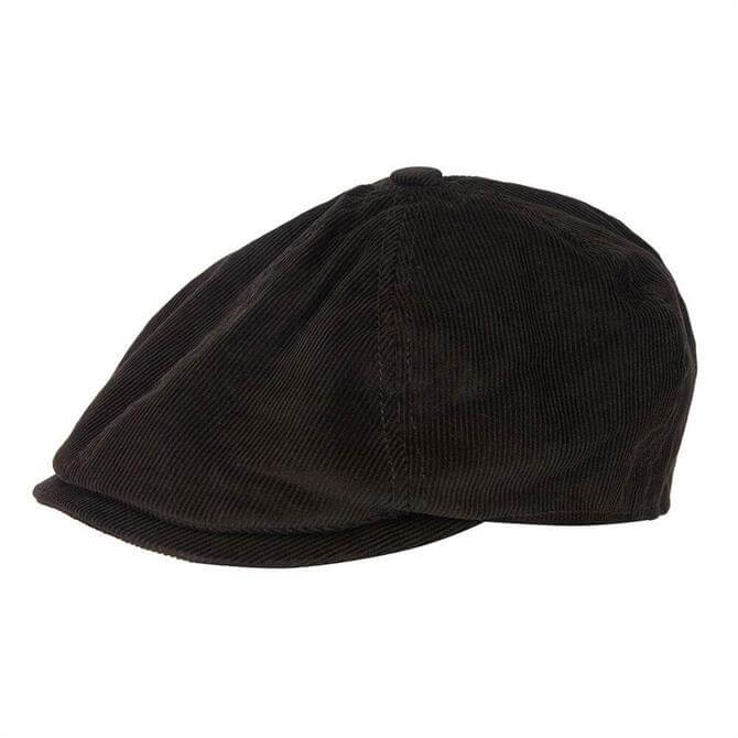 Barbour Nelson Corduroy Bakerboy Hat
