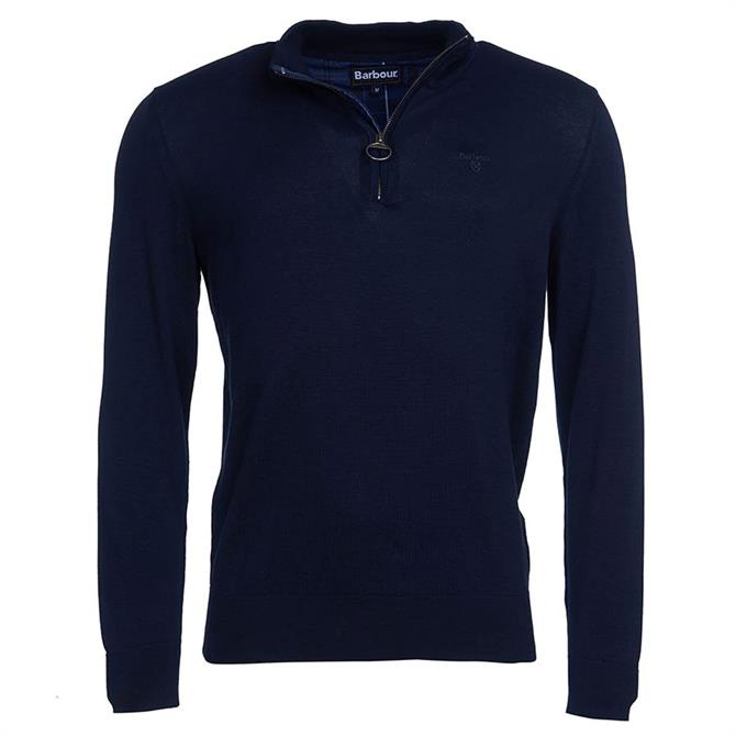 Barbour Tain Half Zip Jumper
