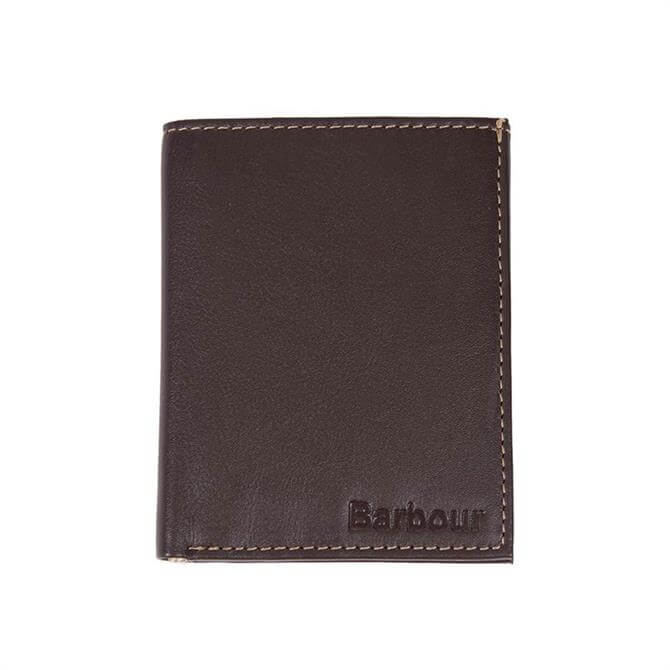 Barbour Elvington Small Leather Billfold Wallet