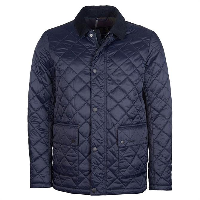 Barbour Diggle Navy Quilted Jacket