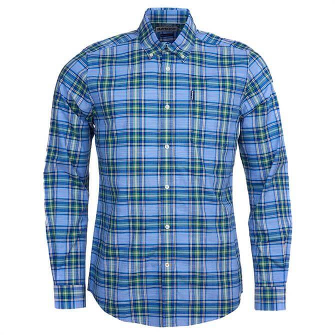 Barbour Highland Sky Blue Check 26 Tailored Shirt