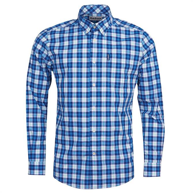 Barbour Highland Blue Check 28 Tailored Shirt