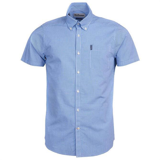 Barbour Gingham 17 Short Sleeved Shirt