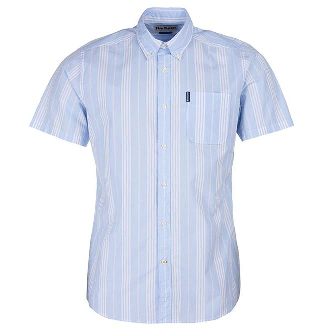 Barbour Stripe 10 Tailored Short Sleeved Shirt
