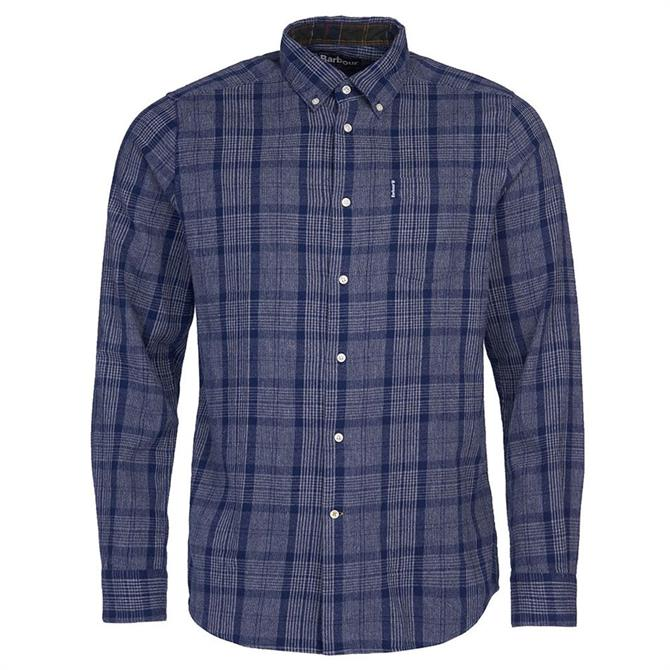 Barbour Inverbeg Navy Checked Shirt