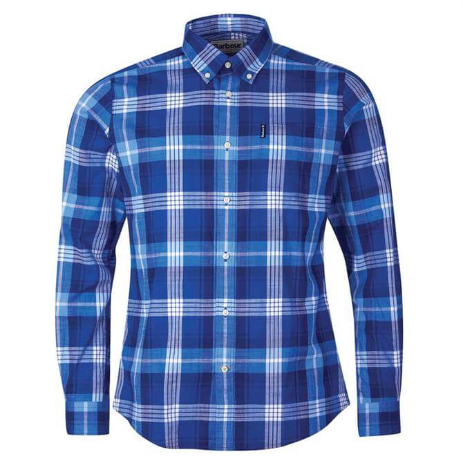 Barbour Highland Blue Check 37 Tailored Shirt
