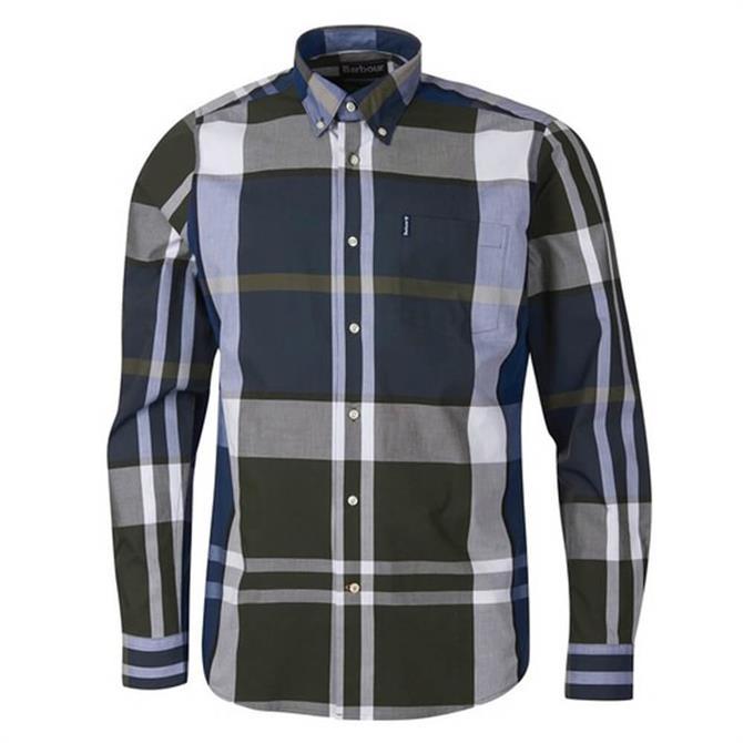 Barbour Tartan 11 Tailored Large Check Shirt