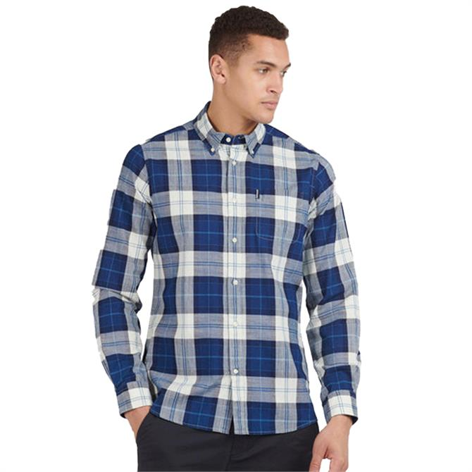 Barbour Indigo 9 Tailored Fit Check Shirt
