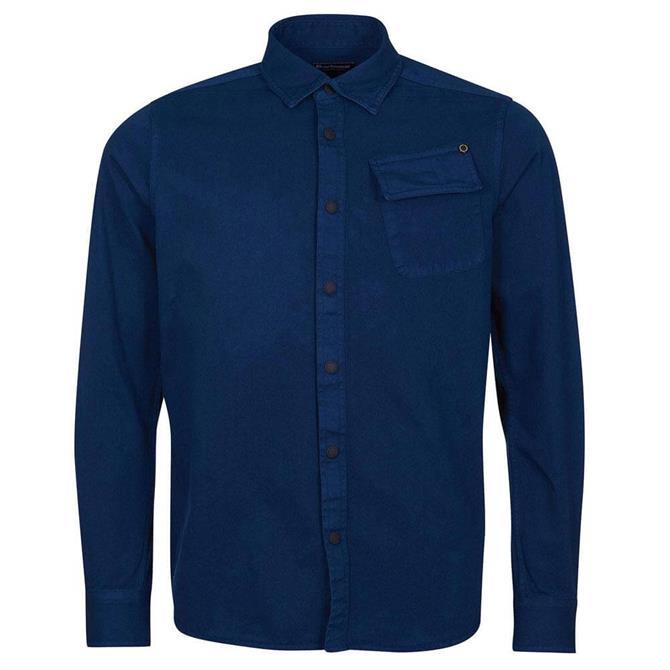 Barbour International Blue Patch Overshirt