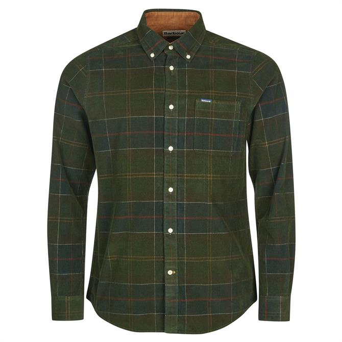 Barbour Blair Corduory Check Tailored Shirt
