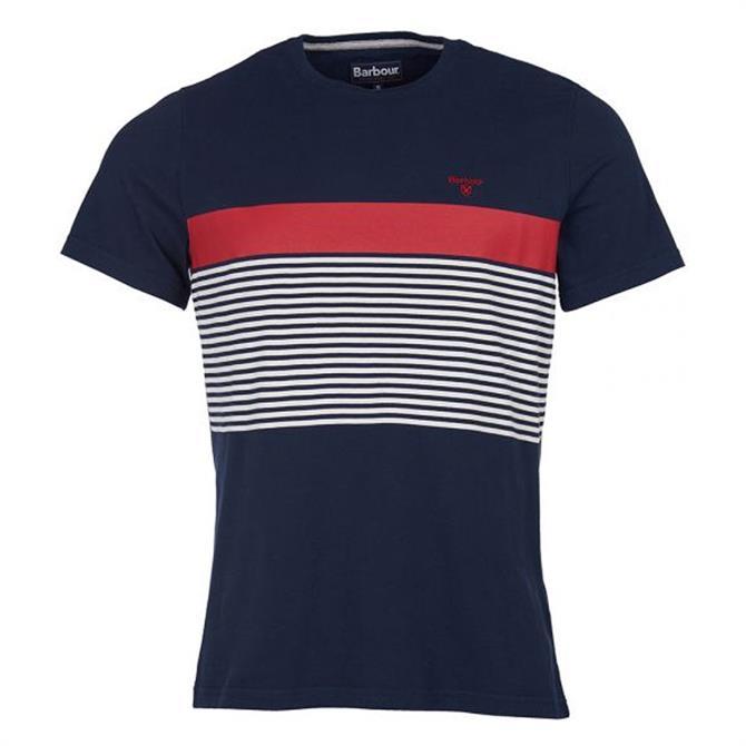 Barbour Braeside Graphic Stripe T-Shirt