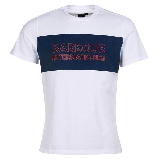 Barbour International Panel Logo T-Shirt