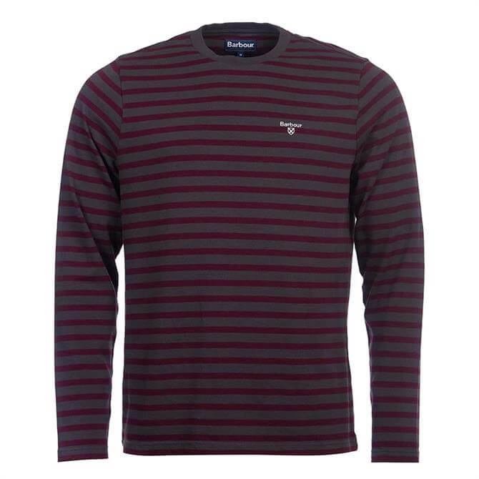 Barbour Bow Long-Sleeved Stripe T-Shirt