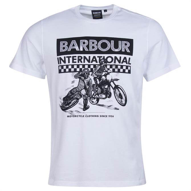 Barbour International Archive Checkers T-Shirt