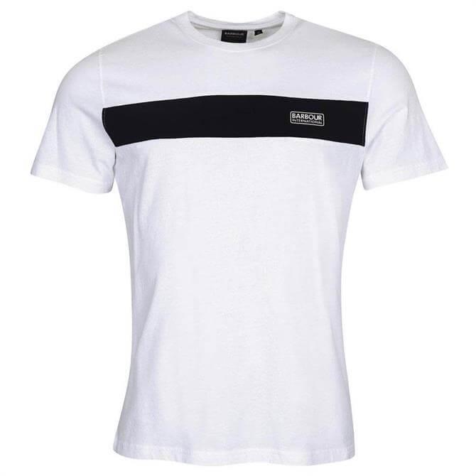 Barbour International Accelerator Panel T-Shirt