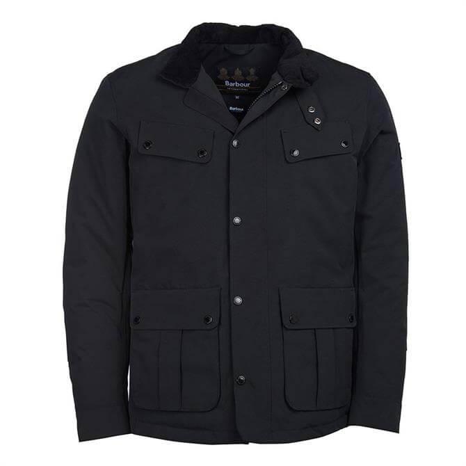 Barbour International Navy Waterproof Duke Jacket