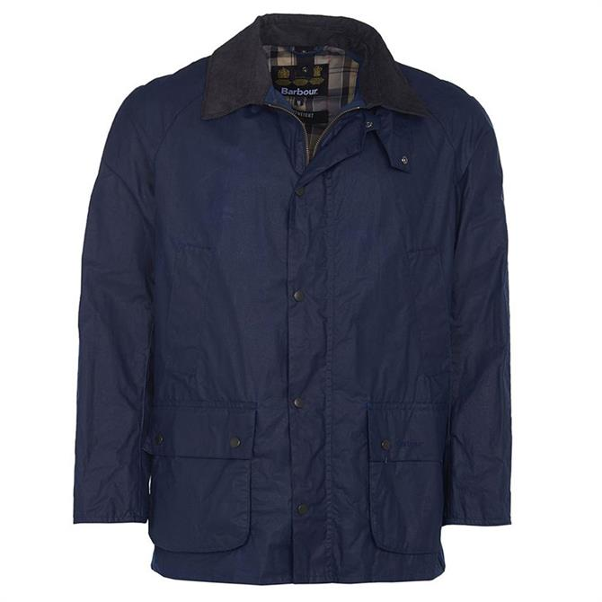 Barbour Lightweight Ashby Blue Waxed Jacket