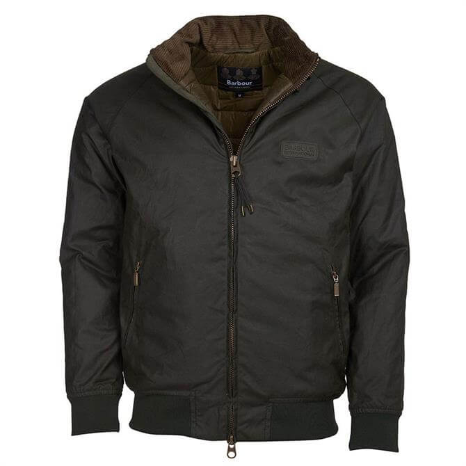 Barbour International Green Westway Waxed Jacket