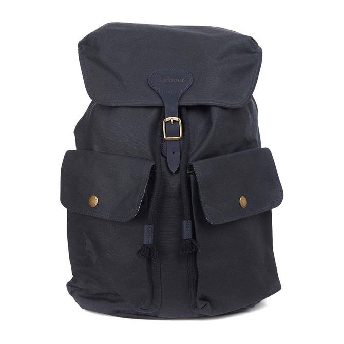 Barbour New Beaufort Navy Backpack