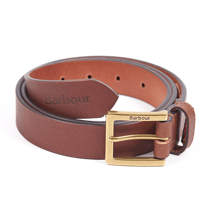 Barbour Pull Up Leather Belt