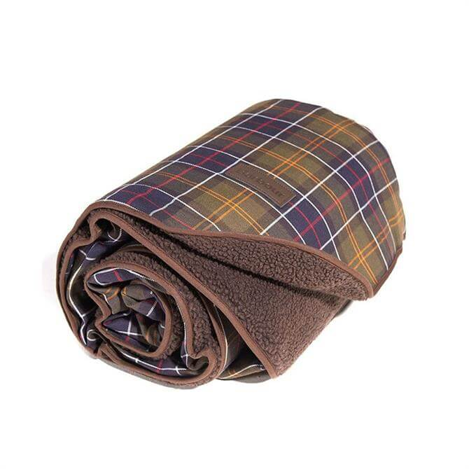 Barbour Tartan Small Dog Blanket