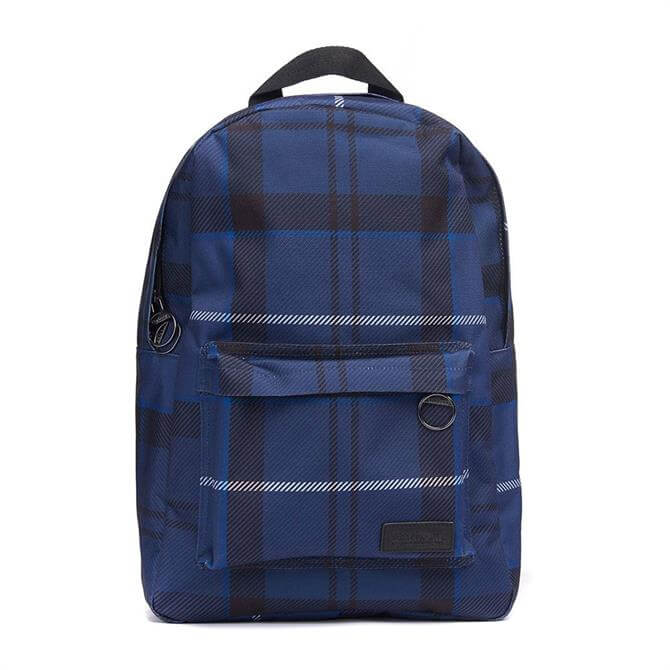 Barbour Tartan Canvas Backpack