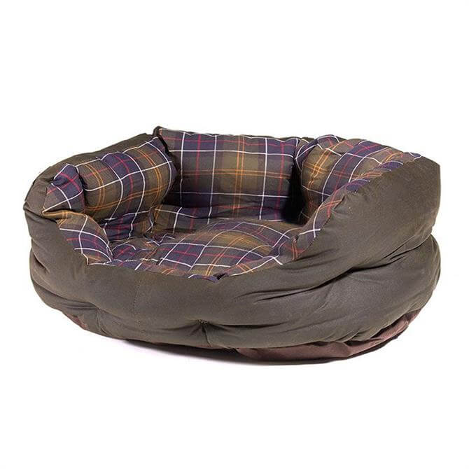 Barbour Wax Cotton Dog Bed 24 inch