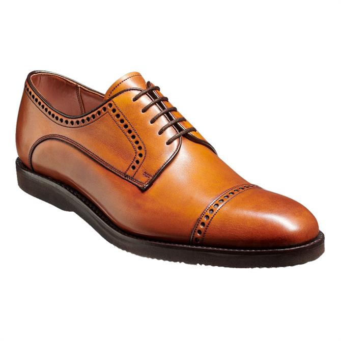 Barker Marcus Brown Leather Derby Shoe