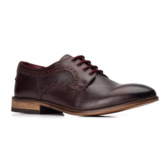 Base London Haddon Softy Derby in Bordeaux Red