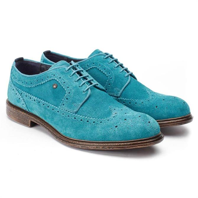 Base London Onyx Suede Brogues