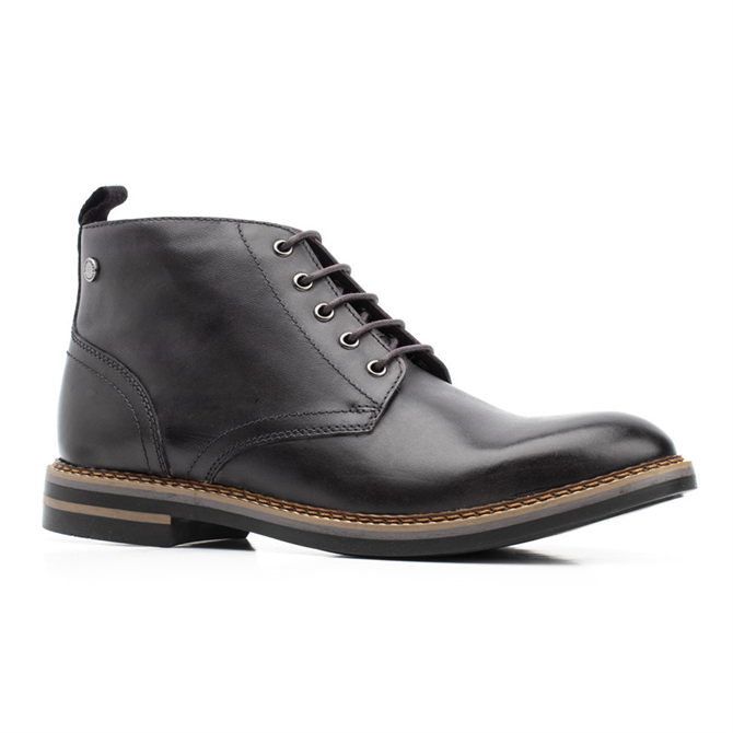 Base London Raynor Burnished Boot in Grey