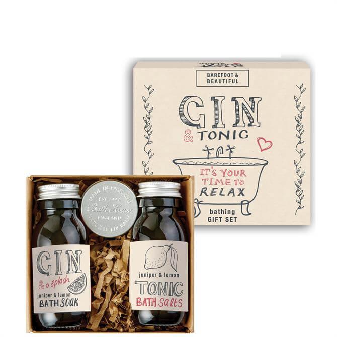 Bath House Barefoot & Beautiful Gin & Tonic Bathing Gift Set