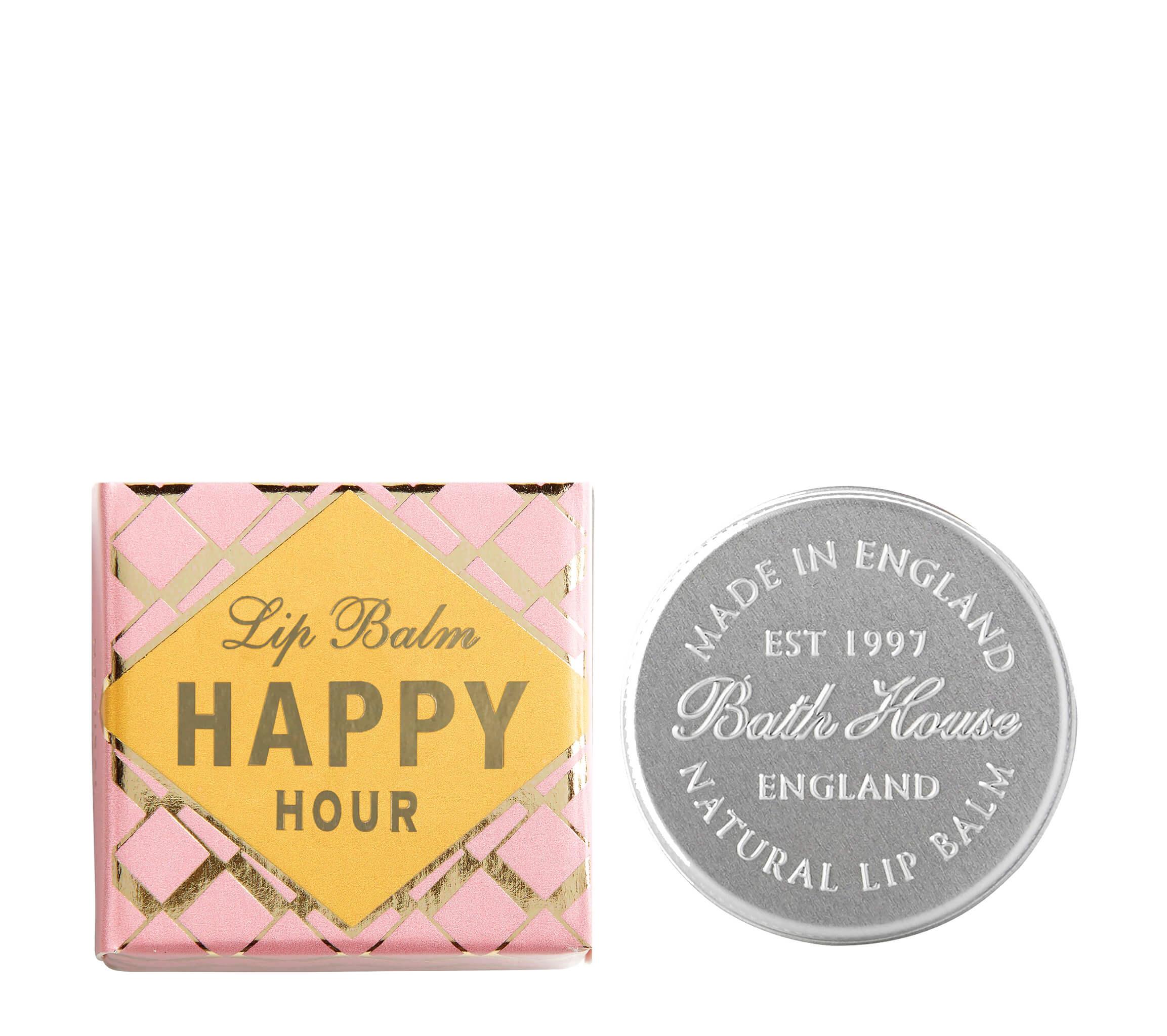 An image of Bath House Happy Hour Lip Balms 15g - BLACK GRAPE