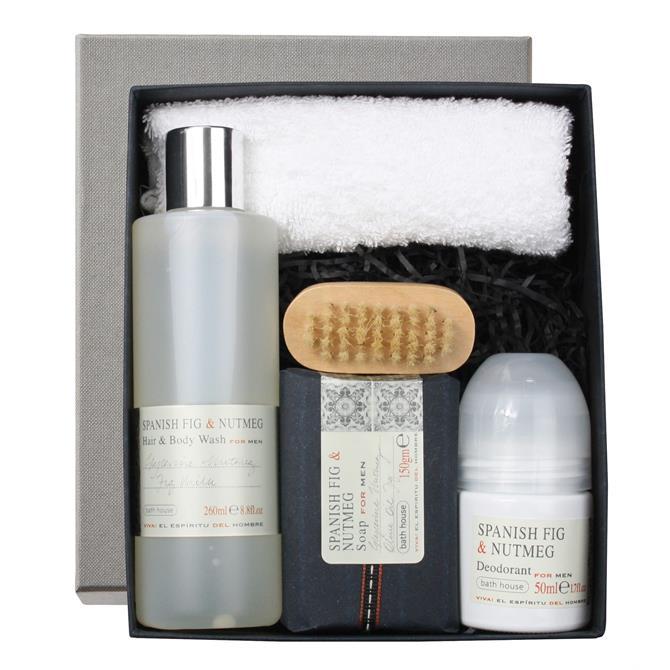 Bath House Men's Body Gift Box