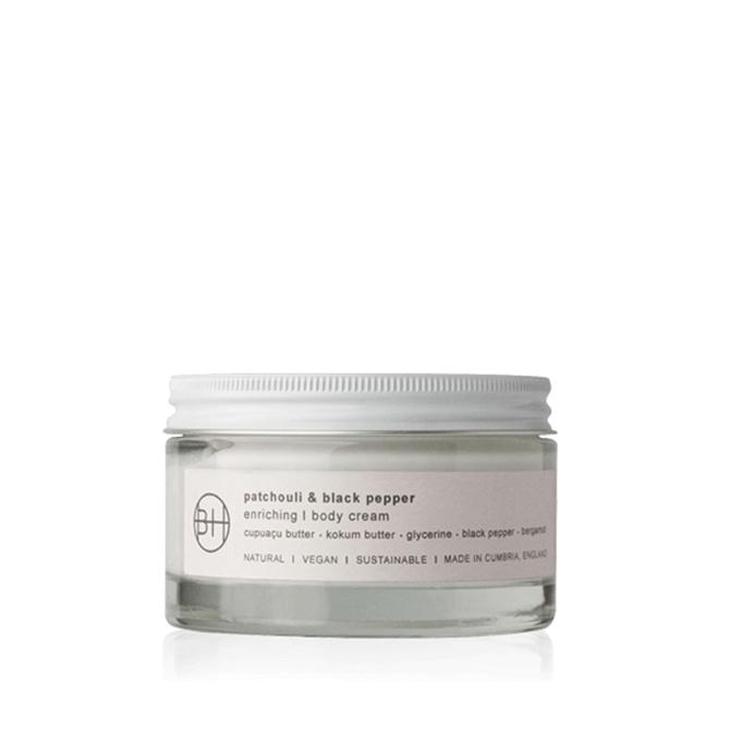 Bath House Patchouli & Black Pepper Body Cream 200ml