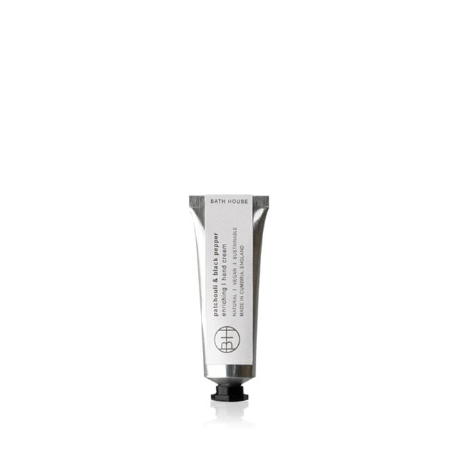 Bath House Patchouli & Black Pepper Hand Cream 30ml