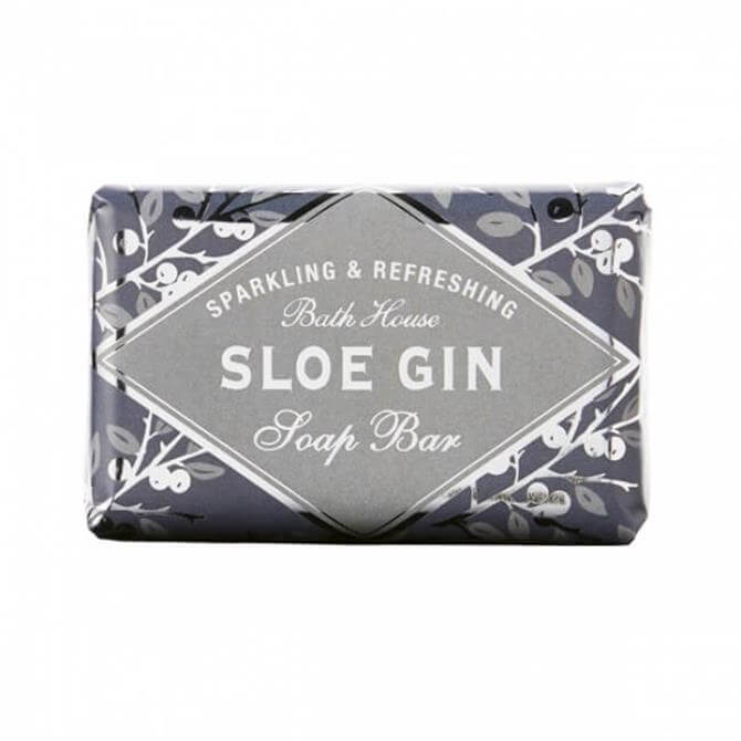 Bath House Sparkling & Refreshing Sloe Gin Soap Bar 100g