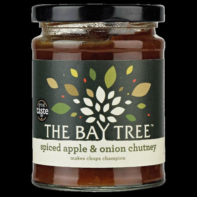 The Bay Tree Spiced Apple and Onion Chutney 300g