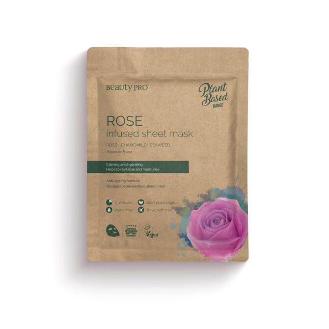 BeautyPro Rose Infused Face Mask