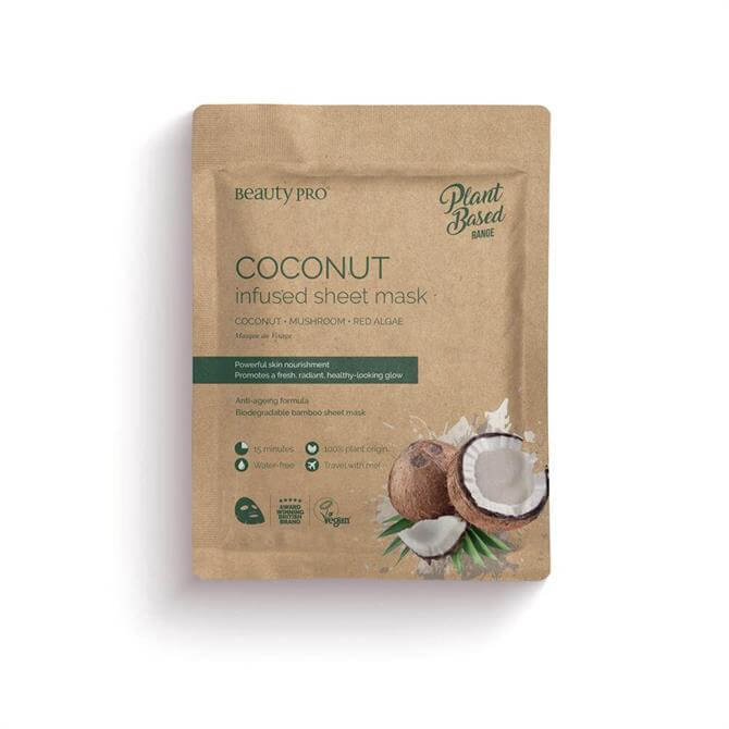 BeautyPro Coconut Oil Infused Sheet Face Mask