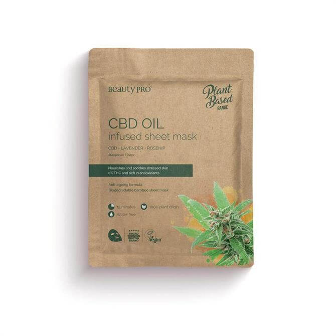 BeautyPro CBD Oil Infused Face Mask