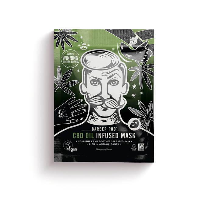BeautyPro Gentlemens CBD Oil Face Mask