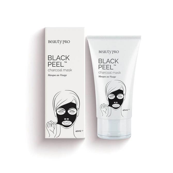 BeautyPro Black Peel Charcoal Mask 40ml Tube