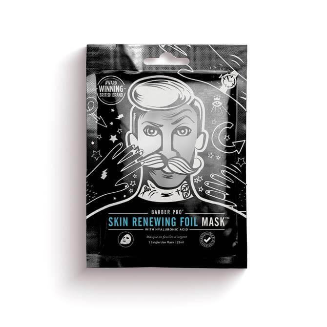 BeautyPro Gentlemans Skin Renewing Foil Sheet Mask
