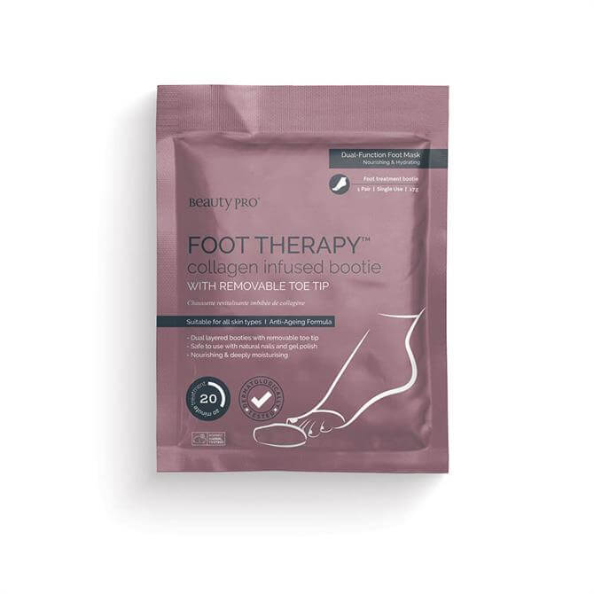 BeautyPro Foot Therapy™ Collagen Infused Bootie