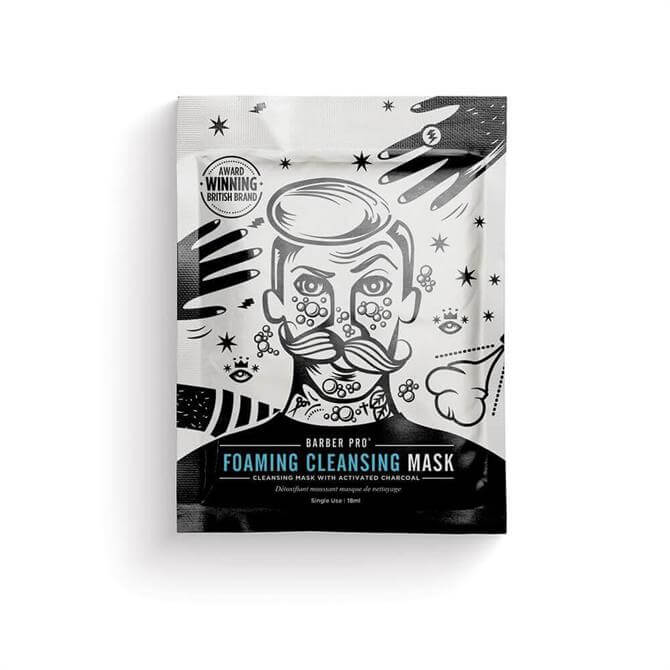 BeautyPro Gentlemens Foaming Cleansing Mask with Activated Charcoal