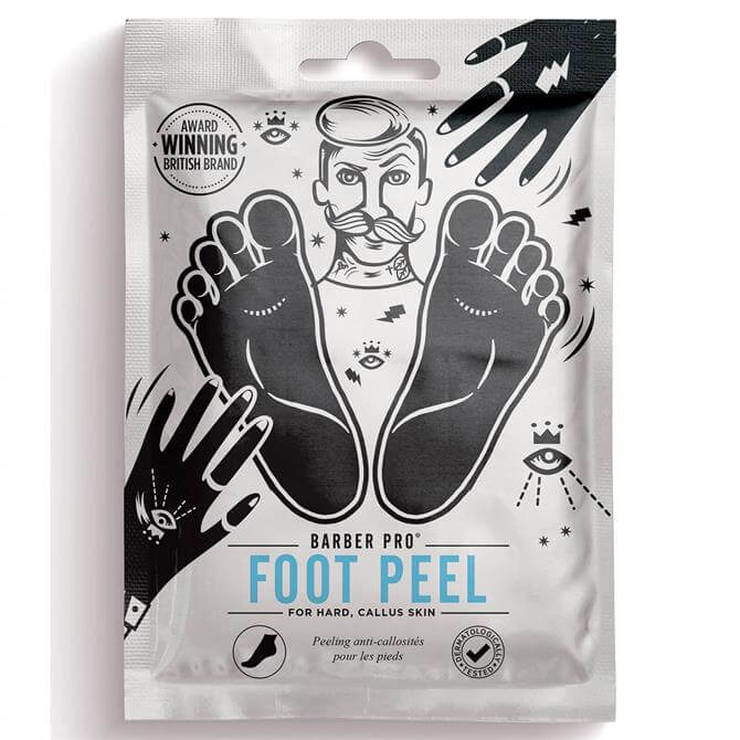 Barber Pro Gentlemens Foot Peel Booties- 1 Pair